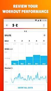 Androidアプリ「MapMyRide GPSサイクリング」のスクリーンショット 2枚目