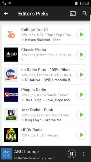 Androidアプリ「radio.net」のスクリーンショット 3枚目
