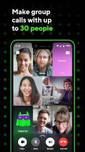 Androidアプリ「ICQ -  ビデオチャット&音声通話」のスクリーンショット 2枚目