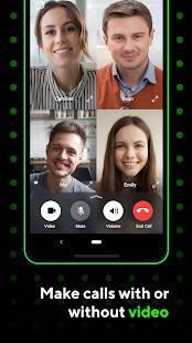Androidアプリ「ICQ -  ビデオチャット&音声通話」のスクリーンショット 1枚目