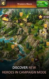 Androidアプリ「Kingdoms of Camelot: Battle」のスクリーンショット 5枚目