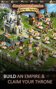 Androidアプリ「Kingdoms of Camelot: Battle」のスクリーンショット 1枚目