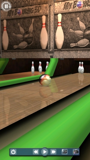 Androidアプリ「My Bowling 3D」のスクリーンショット 4枚目
