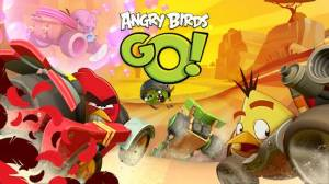 Androidアプリ「Angry Birds Go!」のスクリーンショット 1枚目