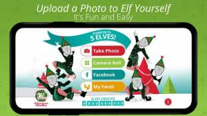 Androidアプリ「ElfYourself® By Office Depot」のスクリーンショット 1枚目