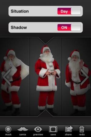 Androidアプリ「Santa Collage」のスクリーンショット 3枚目