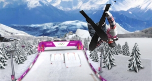 Androidアプリ「Sochi 2014: Ski Slopestyle」のスクリーンショット 1枚目