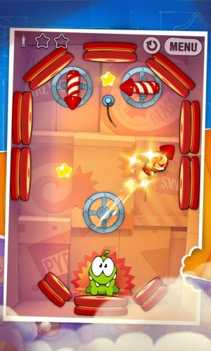 Androidアプリ「Cut the Rope: Experiments FREE」のスクリーンショット 4枚目