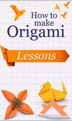 Androidアプリ「How to Make Origami」のスクリーンショット 1枚目