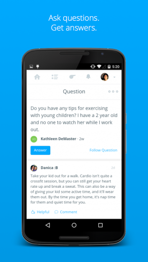 Androidアプリ「Coach.me - Instant Coaching」のスクリーンショット 3枚目