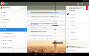 Androidアプリ「Wunderlist for Education」のスクリーンショット 2枚目