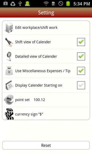 Androidアプリ「シフトdeバイト Lite」のスクリーンショット 4枚目