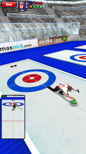 Androidアプリ「Curling3D lite」のスクリーンショット 3枚目