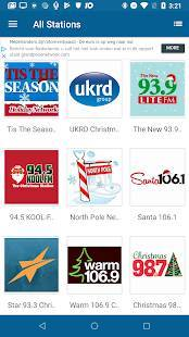 Androidアプリ「クリスマス ラジオ (Christmas RADIO)」のスクリーンショット 4枚目