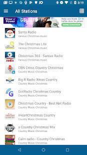 Androidアプリ「クリスマス ラジオ (Christmas RADIO)」のスクリーンショット 2枚目