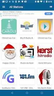 Androidアプリ「クリスマス ラジオ (Christmas RADIO)」のスクリーンショット 1枚目