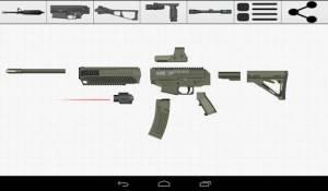 Androidアプリ「Weapon Builder Pro」のスクリーンショット 3枚目