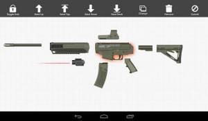 Androidアプリ「Weapon Builder Pro」のスクリーンショット 2枚目