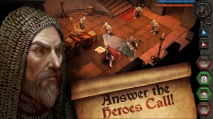 Androidアプリ「Heroes Call」のスクリーンショット 1枚目