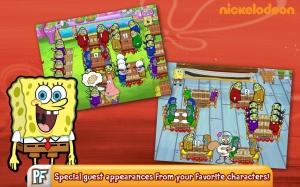 Androidアプリ「SpongeBob Diner Dash」のスクリーンショット 3枚目