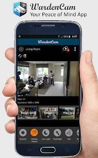 Androidアプリ「スマートホームセキュリティ, 家庭用のIP監視カメラ」のスクリーンショット 2枚目