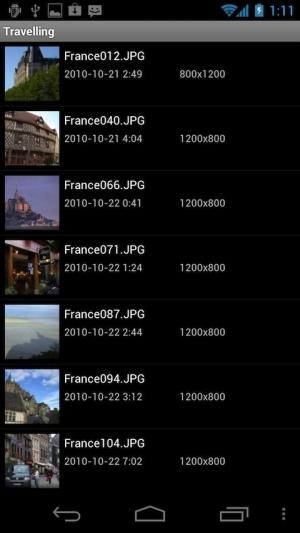 Androidアプリ「ePhotoChest」のスクリーンショット 3枚目