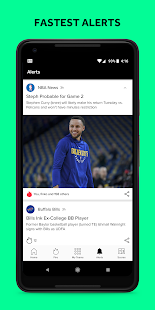 Androidアプリ「Bleacher Report: sports news, scores, & highlights」のスクリーンショット 2枚目