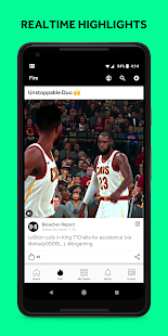 Androidアプリ「Bleacher Report: sports news, scores, & highlights」のスクリーンショット 4枚目