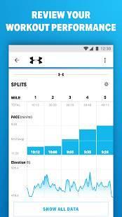 Androidアプリ「Map My Runでランニング」のスクリーンショット 2枚目