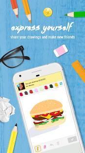 Androidアプリ「Draw Something Classic」のスクリーンショット 1枚目