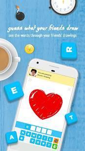 Androidアプリ「Draw Something Classic」のスクリーンショット 2枚目