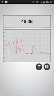 Androidアプリ「Sound Meter PRO」のスクリーンショット 2枚目