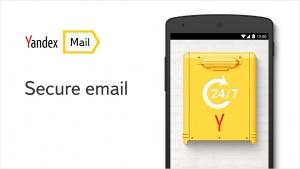 Androidアプリ「Yandex.Mail」のスクリーンショット 1枚目