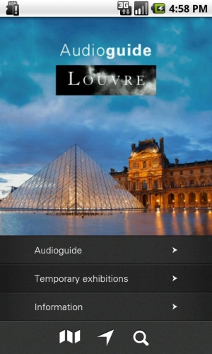 Androidアプリ「Louvre Audio Guide」のスクリーンショット 1枚目