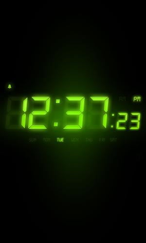 Androidアプリ「アラームクロックFree」のスクリーンショット 2枚目