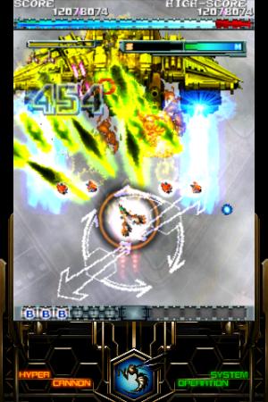 Androidアプリ「怒首領蜂大復活 LITE」のスクリーンショット 4枚目