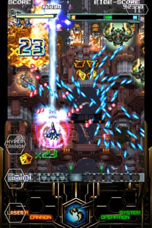 Androidアプリ「怒首領蜂大復活 LITE」のスクリーンショット 2枚目