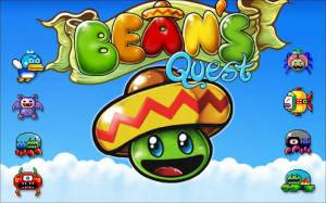 Androidアプリ「Bean's Quest」のスクリーンショット 1枚目