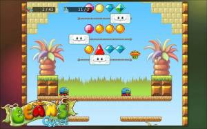 Androidアプリ「Bean's Quest」のスクリーンショット 4枚目