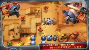 Androidアプリ「Fieldrunners 2」のスクリーンショット 2枚目