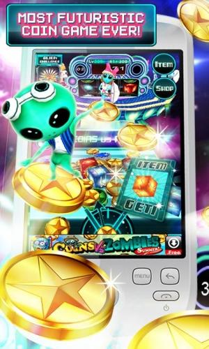 Androidアプリ「Coins Vs Aliens」のスクリーンショット 2枚目