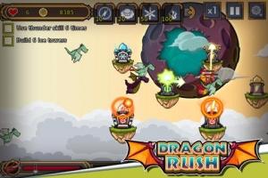 Androidアプリ「ドラゴンラッシュ」のスクリーンショット 1枚目