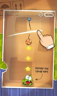 Androidアプリ「Cut the Rope FULL FREE」のスクリーンショット 2枚目