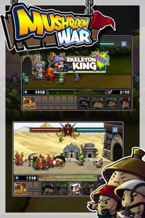 Androidアプリ「キノコの戦争」のスクリーンショット 3枚目