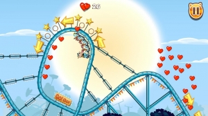 Androidアプリ「Nutty Fluffies Rollercoaster」のスクリーンショット 2枚目