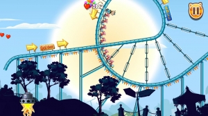 Androidアプリ「Nutty Fluffies Rollercoaster」のスクリーンショット 3枚目