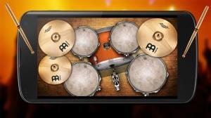 Androidアプリ「ドラムセット 無料」のスクリーンショット 3枚目