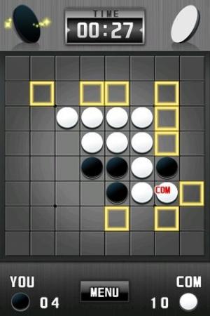 Androidアプリ「リバーシ[本格ボードゲーム]」のスクリーンショット 2枚目