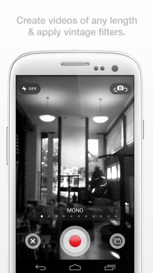 Androidアプリ「Socialcam」のスクリーンショット 3枚目