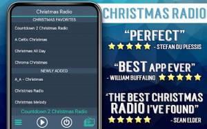 Androidアプリ「クリスマスラジオ」のスクリーンショット 2枚目